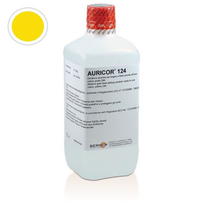Picture of AURICOR 124 YELLOW BRIGHT COLOR 24KT DIPPING