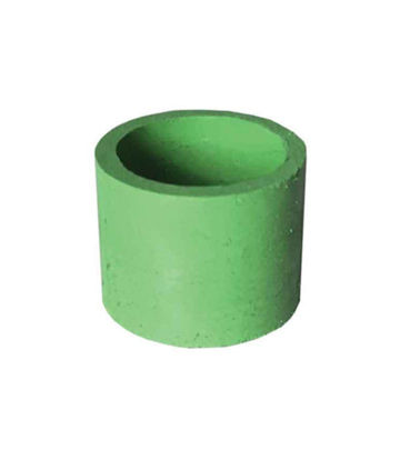 "Picture of 1/2"" x 1/2"" BANDS ULTRA-FINE - LIGHT GREEN - 1 MICRON (A/O) 12/BOX(1848)"