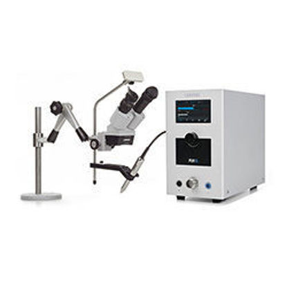 Picture of PUK 5.1 Welder with SMG5 Microscope, Articulating Arm and Flow Regulator